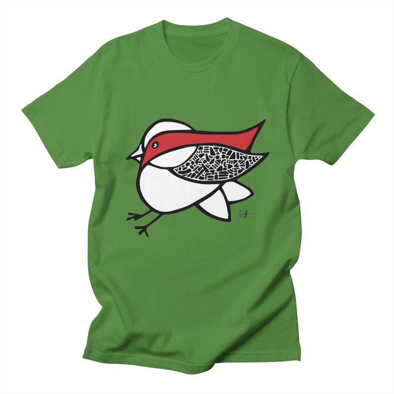 Chubby Birdie Felix Men's T-shirt by Hardcore Hardwear & Design Shop