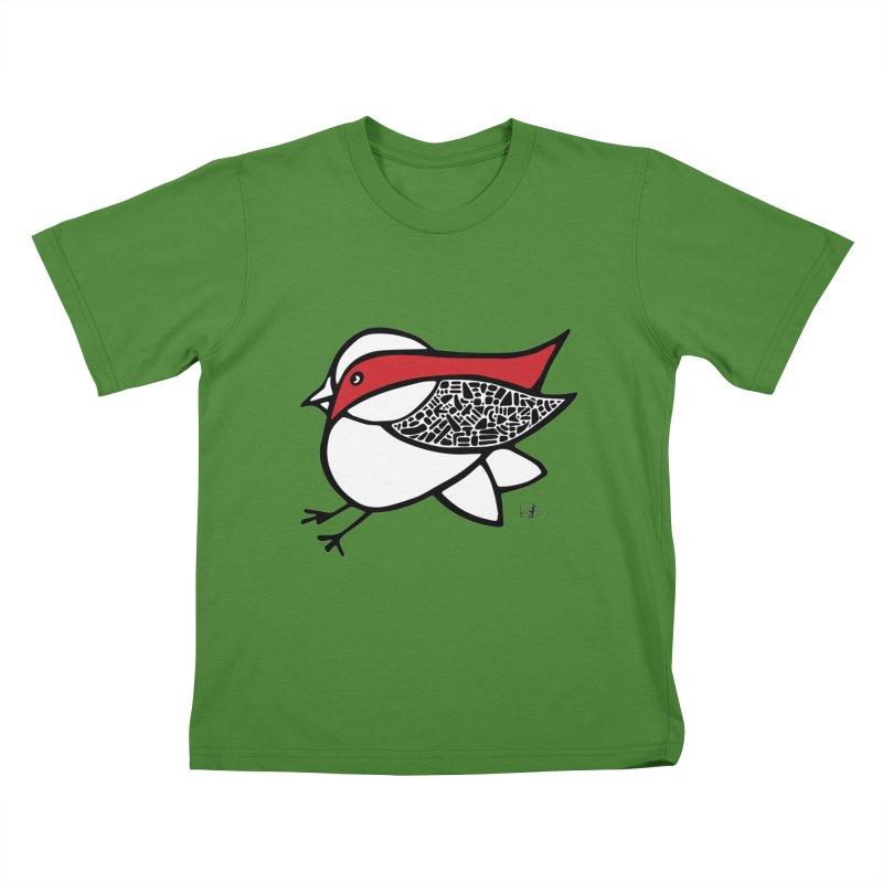 Chubby Birdie Felix Kids T-shirt by Hardcore Hardwear & Design Shop