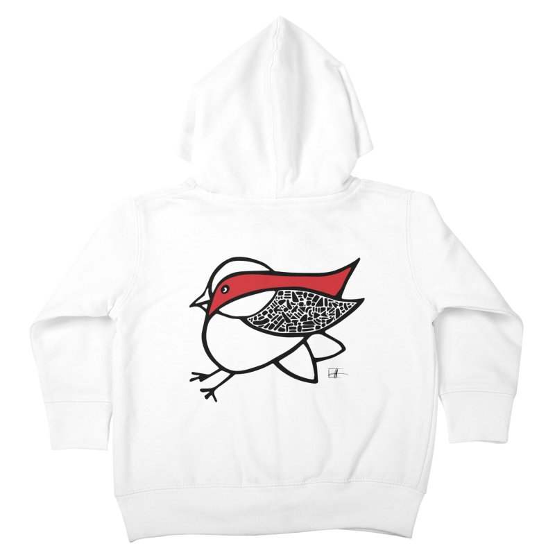 Chubby Birdie Felix Kids Toddler Zip-Up Hoody by Hardcore Hardwear & Design Shop