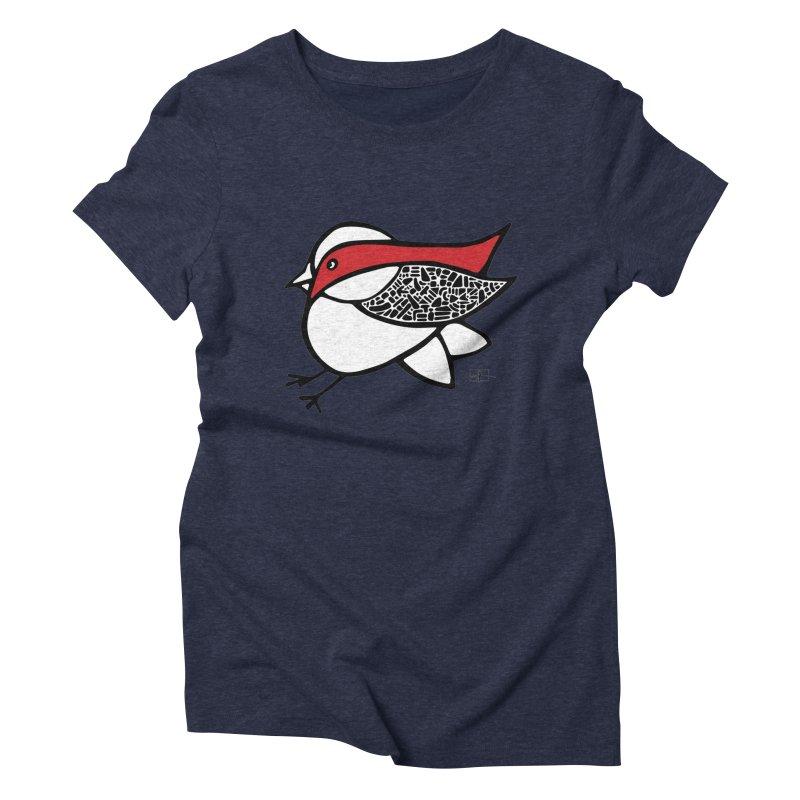 Chubby Birdie Felix Women's Triblend T-shirt by Hardcore Hardwear & Design Shop
