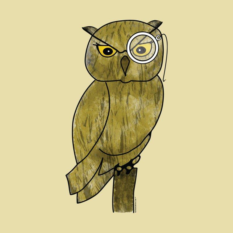 Wisenheimer Owl by Natina Norton Designs