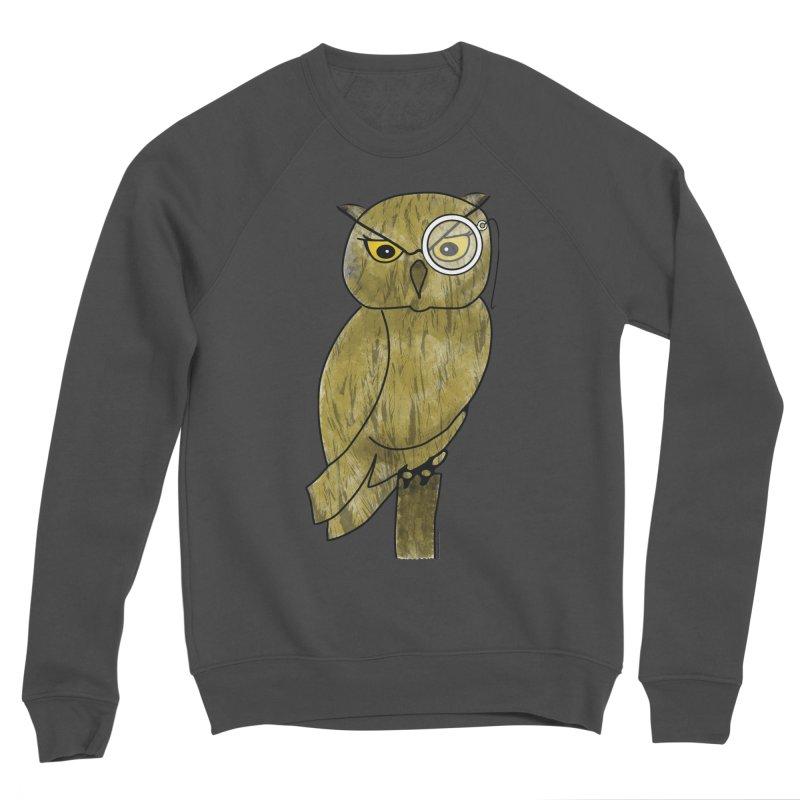 Wisenheimer Owl Women's Sponge Fleece Sweatshirt by Natina Norton Designs