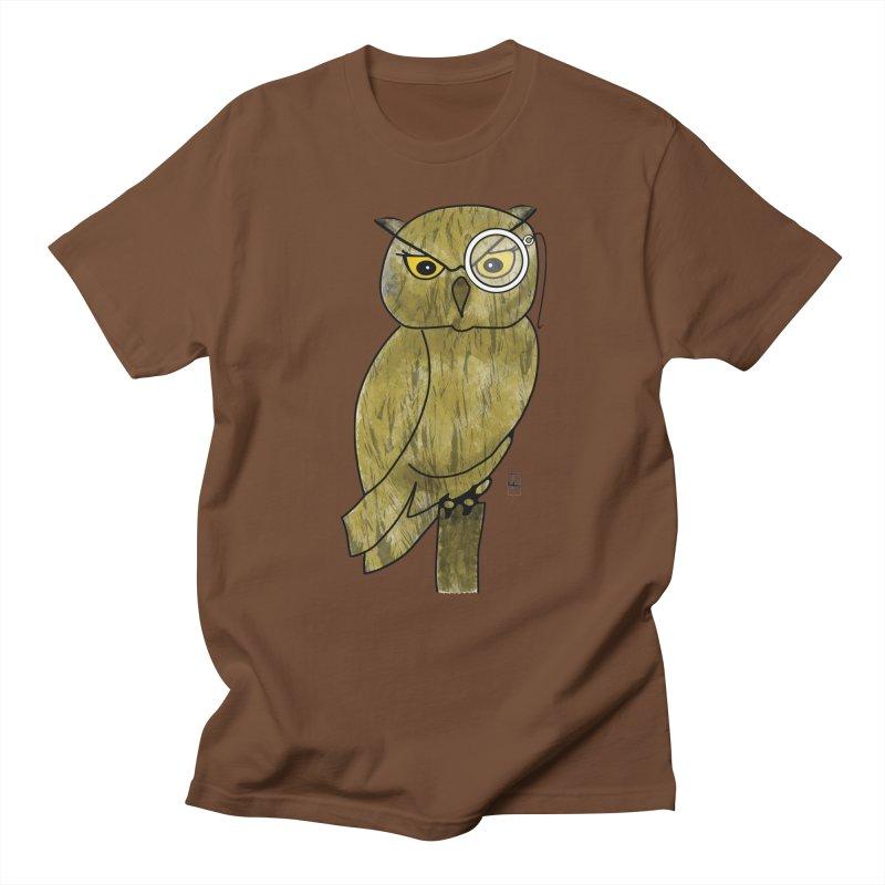 Sir Hootington Men's T-shirt by Hardcore Hardwear & Design Shop
