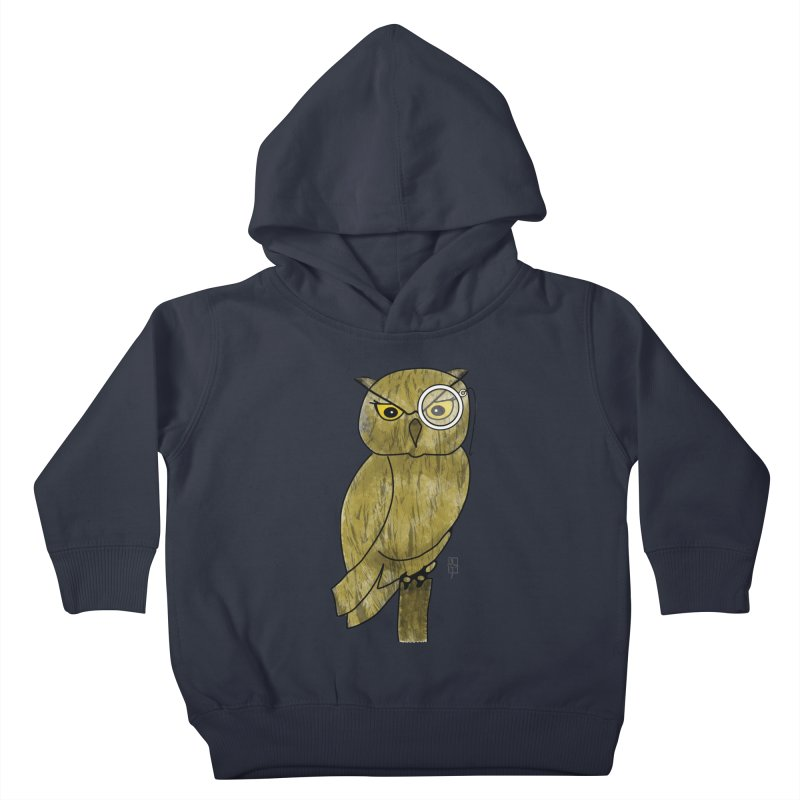Sir Hootington Kids Toddler Pullover Hoody by Hardcore Hardwear & Design Shop