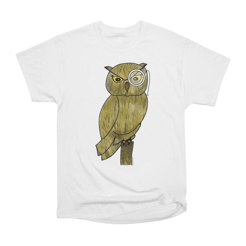 Sir Hootington - Owl Men's Classic T-Shirt by Natina Norton Designs