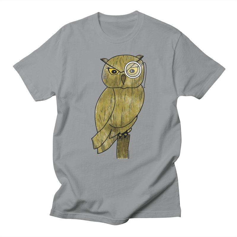 Sir Hootington - Owl Men's T-Shirt by Natina Norton Designs