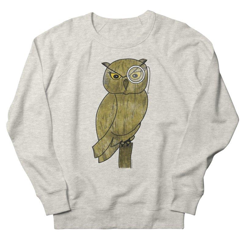 Sir Hootington - Owl Women's Sweatshirt by Natina Norton Designs
