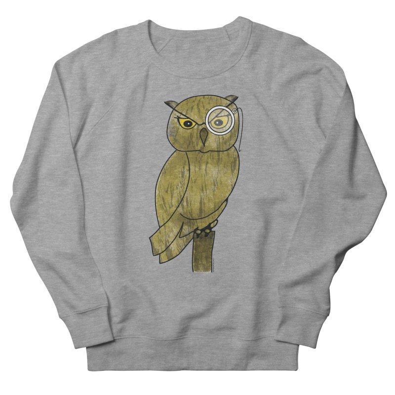 Sir Hootington - Owl Men's Sweatshirt by Natina Norton Designs