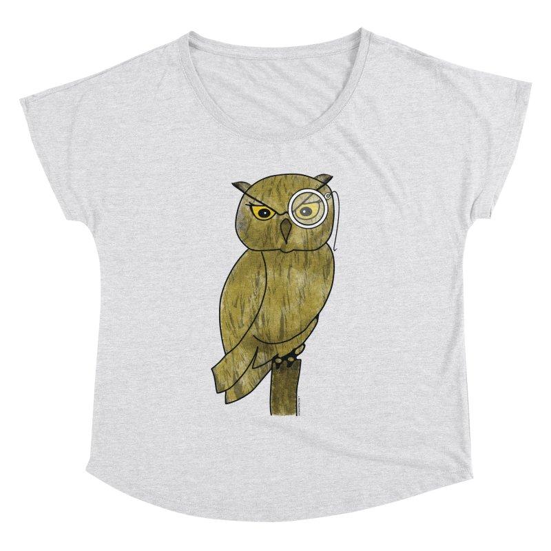 Sir Hootington - Owl Women's Dolman by Natina Norton Designs