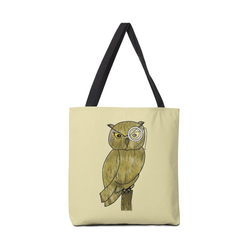 Sir Hootington - Owl Accessories Bag by Natina Norton Designs