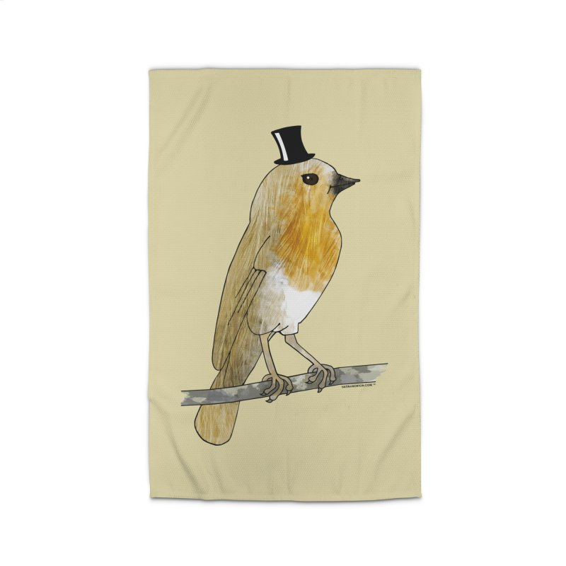 Lord Robin Cheerily - Bird Home Rug by Natina Norton Designs