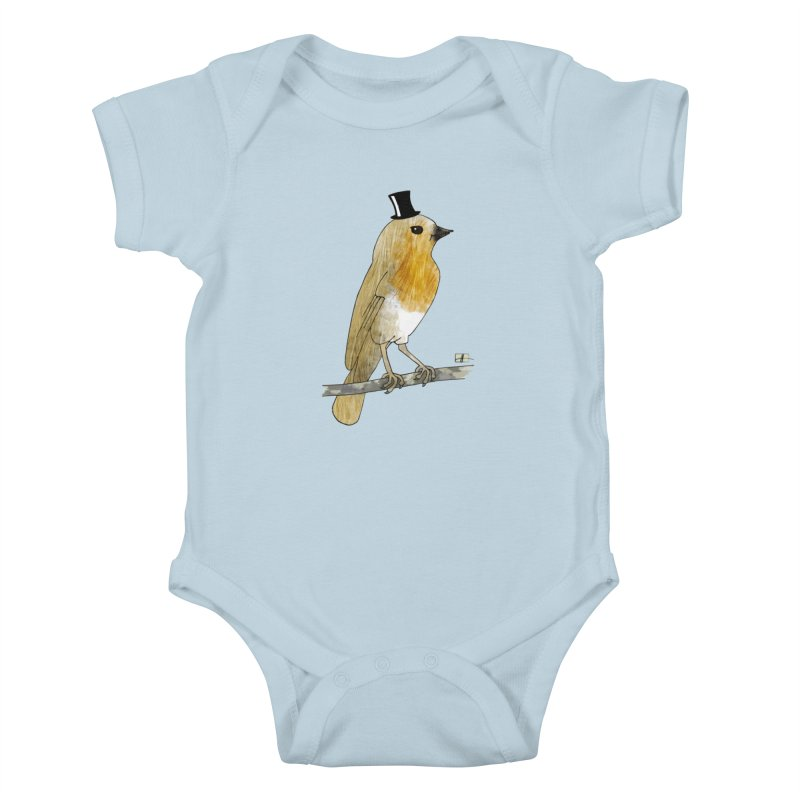 Lord Robin Cheerily Kids Baby Bodysuit by Hardcore Hardwear & Design Shop