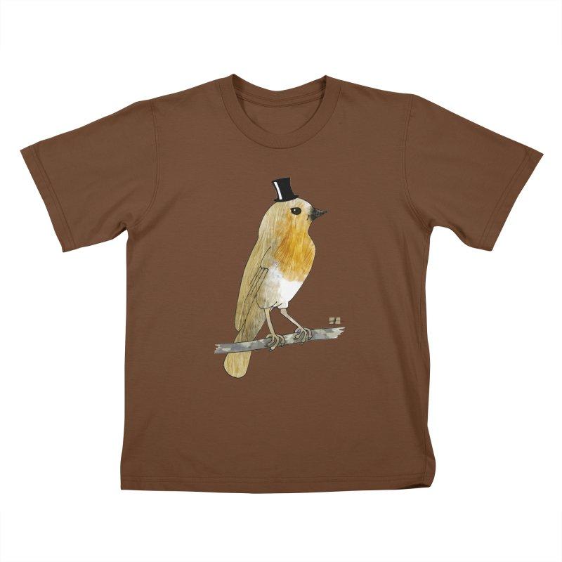 Lord Robin Cheerily Kids T-shirt by Hardcore Hardwear & Design Shop