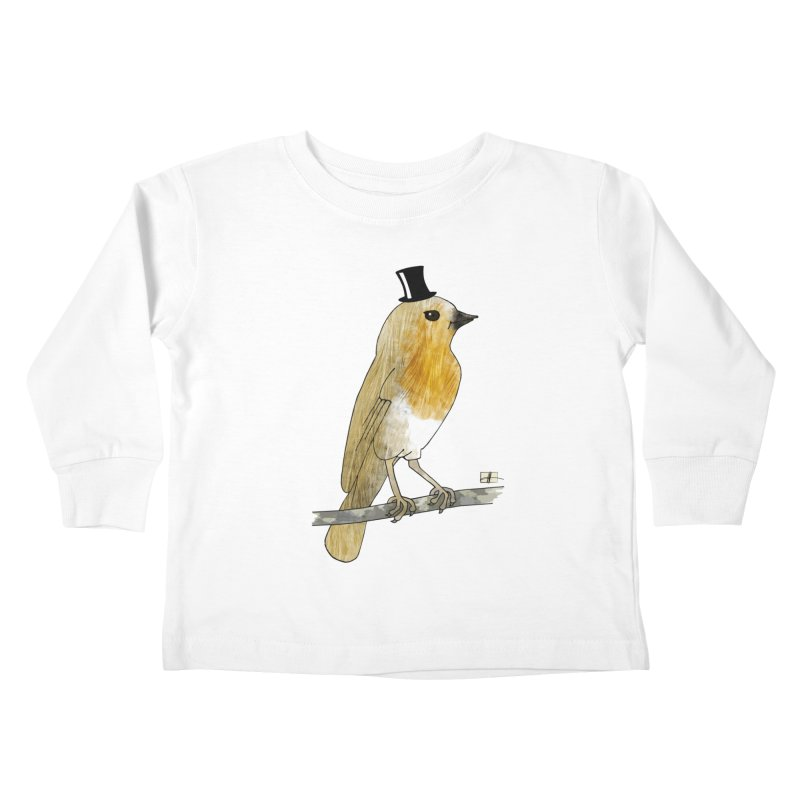 Lord Robin Cheerily Kids Toddler Longsleeve T-Shirt by Hardcore Hardwear & Design Shop