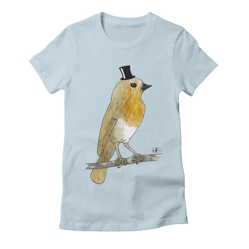 Lord Robin Cheerily Women's Fitted T-Shirt by Hardcore Hardwear & Design Shop