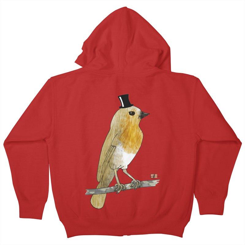 Lord Robin Cheerily Kids Zip-Up Hoody by Hardcore Hardwear & Design Shop