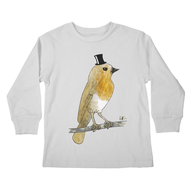 Lord Robin Cheerily Kids Longsleeve T-Shirt by Hardcore Hardwear & Design Shop