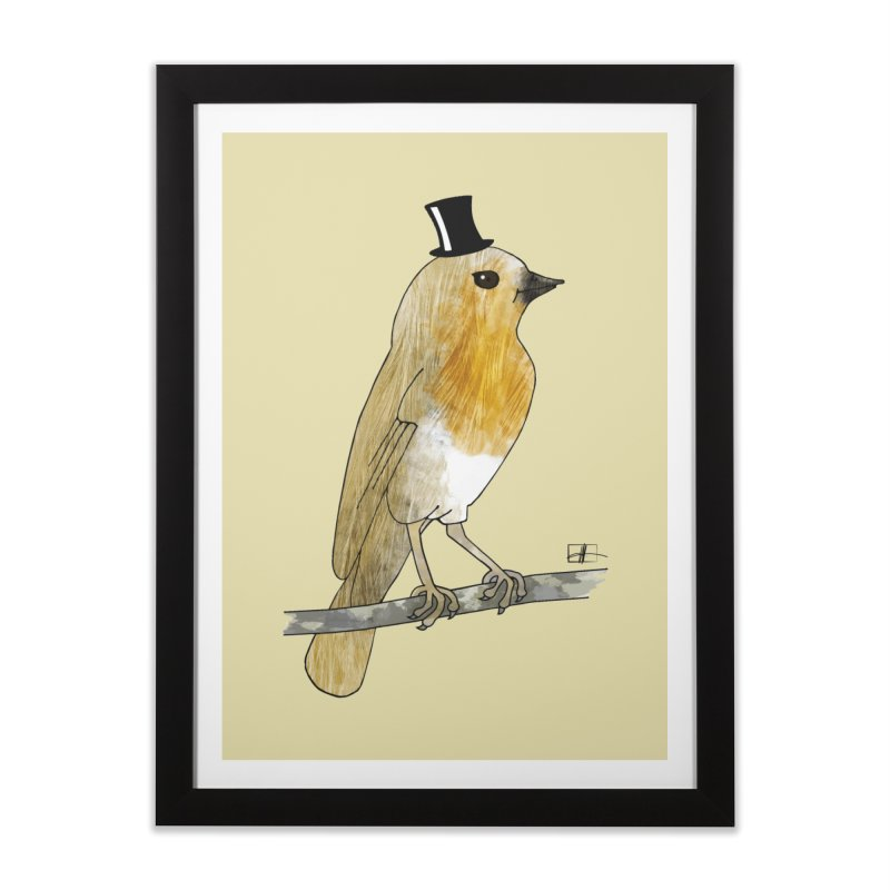 Lord Robin Cheerily Home Framed Fine Art Print by Hardcore Hardwear & Design Shop