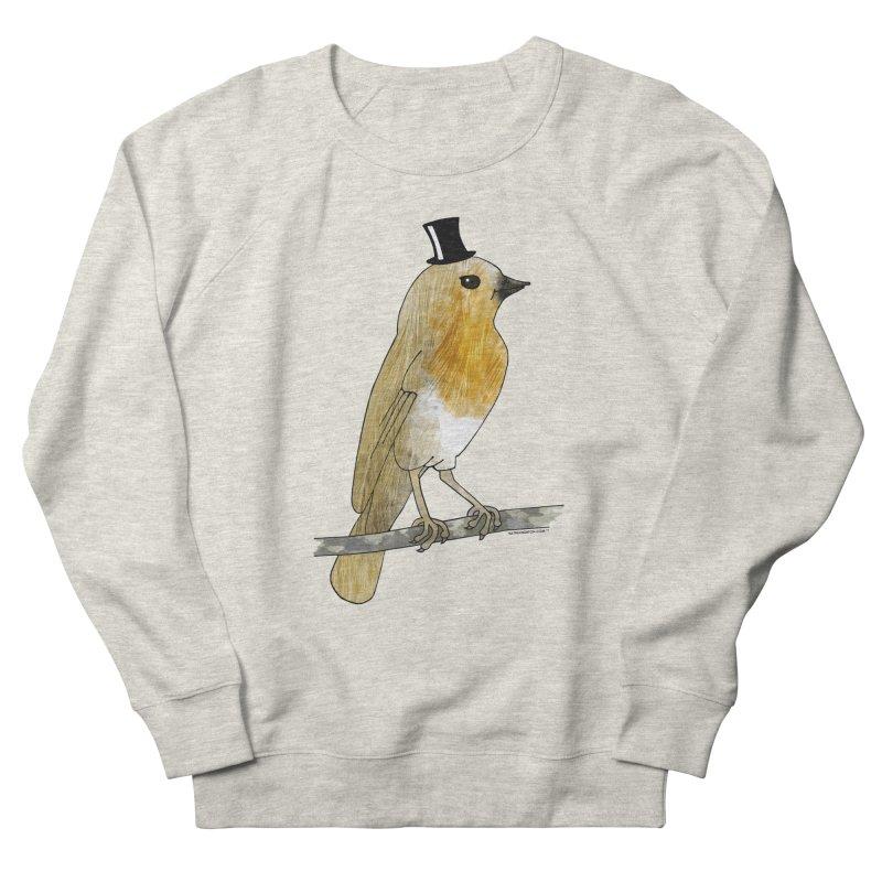 Lord Robin Cheerily - Bird Men's Sweatshirt by Natina Norton Designs
