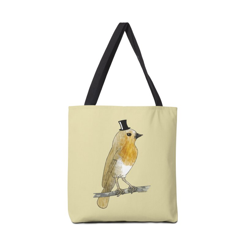 Lord Robin Cheerily - Bird Accessories Bag by Natina Norton Designs