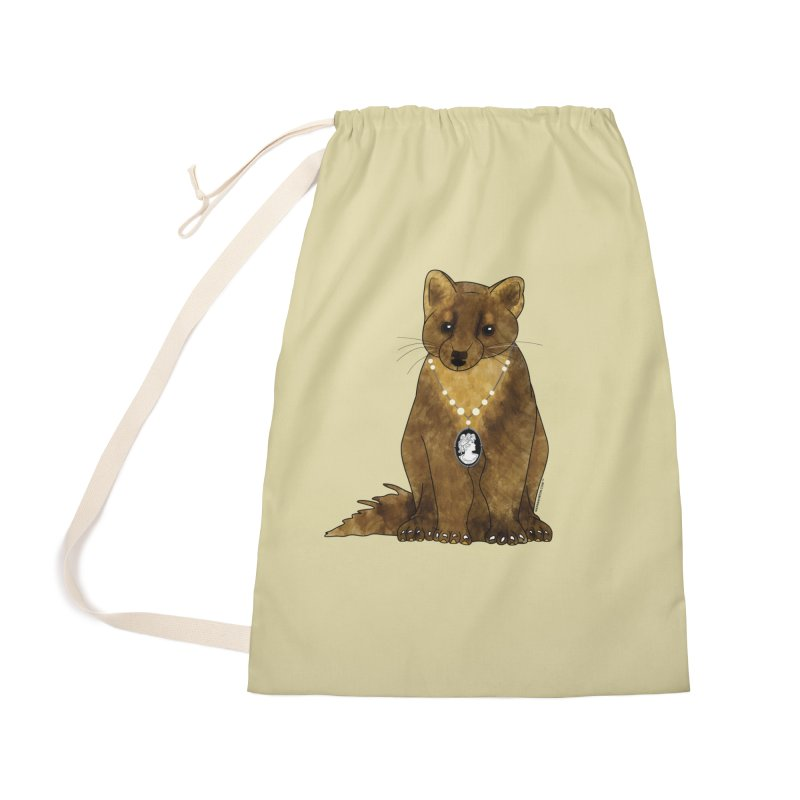 Classy Cameo - Lady Pine Marten Accessories Bag by Natina Norton Designs