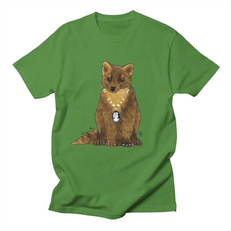 Lady Pine Marten Men's T-shirt by Hardcore Hardwear & Design Shop