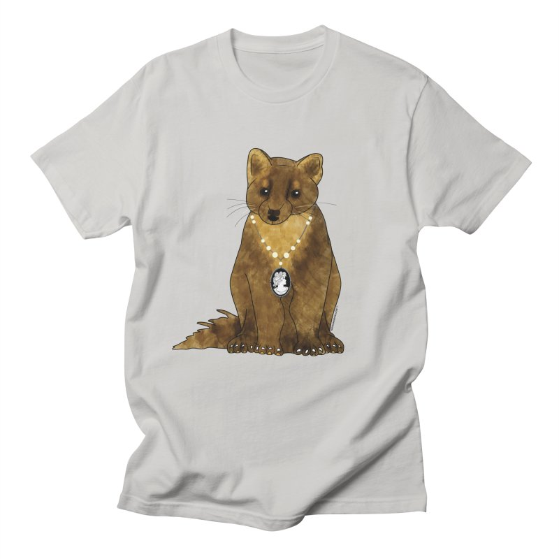 Classy Cameo - Lady Pine Marten Women's T-Shirt by Natina Norton Designs