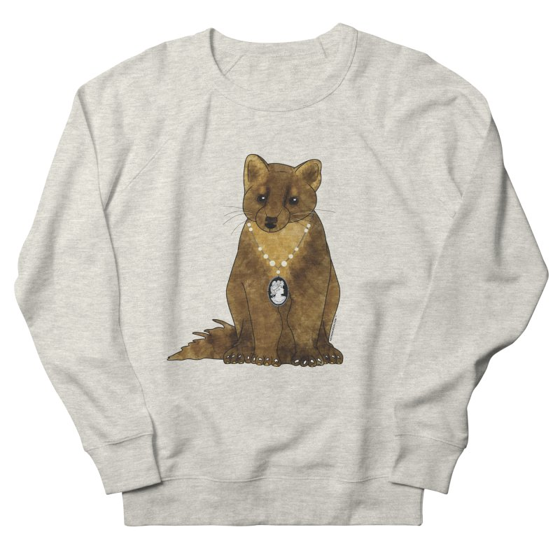 Classy Cameo - Lady Pine Marten Women's Sweatshirt by Natina Norton Designs