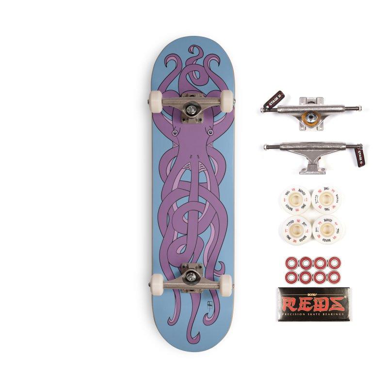 Nautikos the Octopus Accessories Complete - Pro Skateboard by Natina Norton Designs
