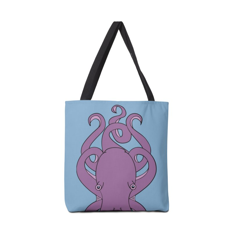 Nautikos the Octopus Accessories Tote Bag Bag by Natina Norton Designs