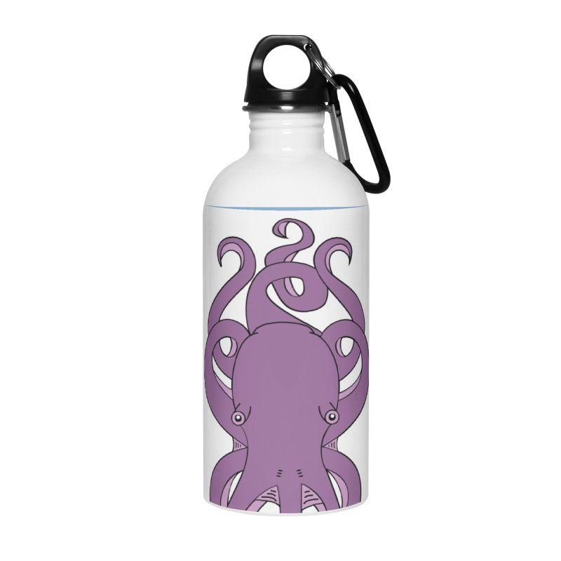Nautikos the Octopus Accessories Water Bottle by Natina Norton Designs