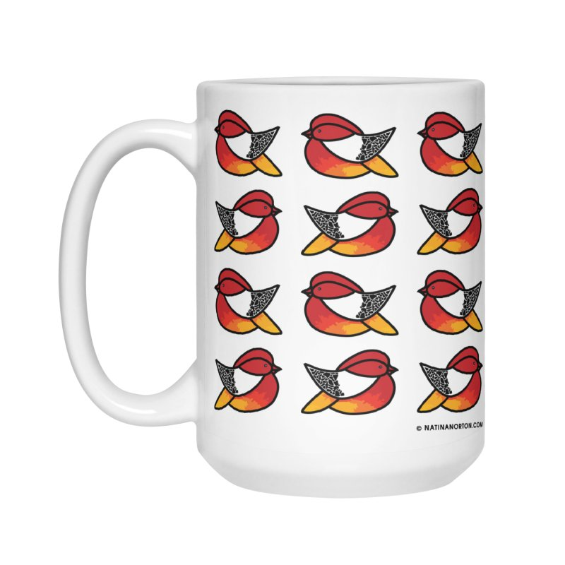 Chubby Birds Accessories Mug by Natina Norton Designs