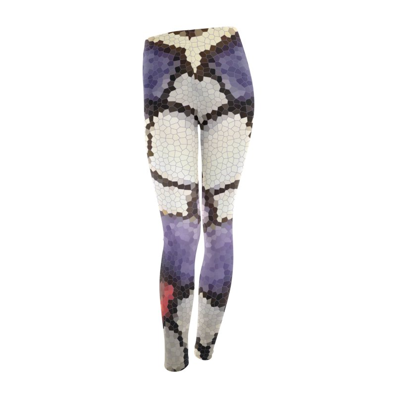 Plums & Peaches Women's Leggings Bottoms by Natina Norton Designs