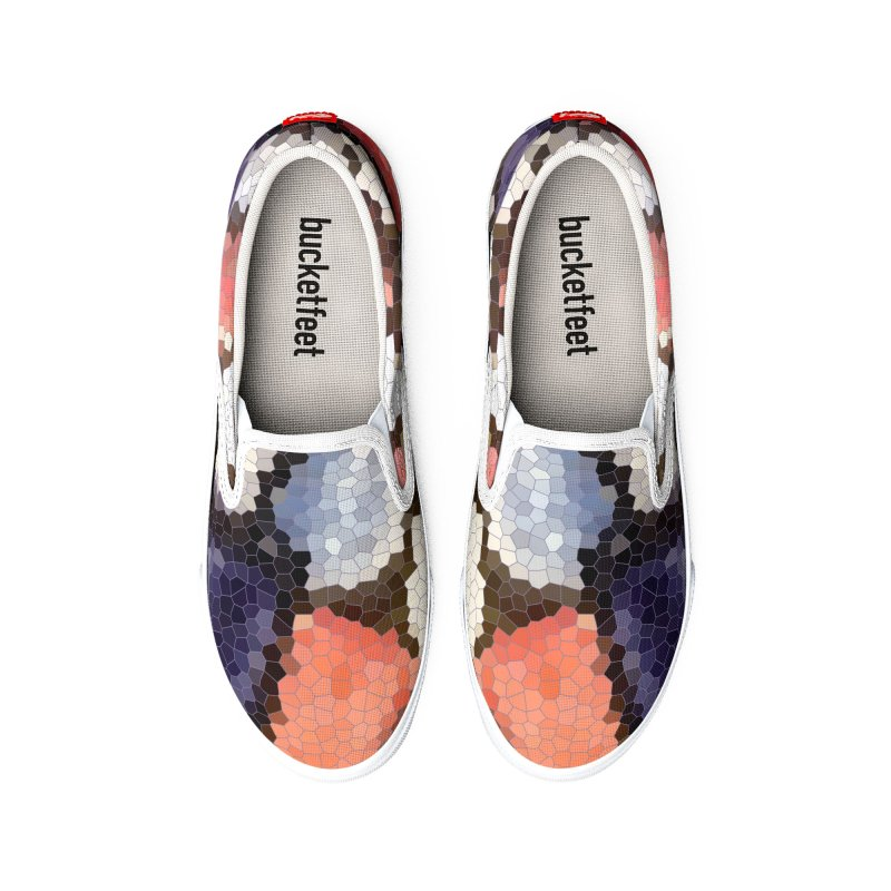 Plums & Peaches Men's Shoes by Natina Norton Designs