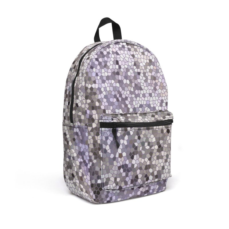 Concrete Ink Spill Accessories Backpack Bag by Natina Norton Designs