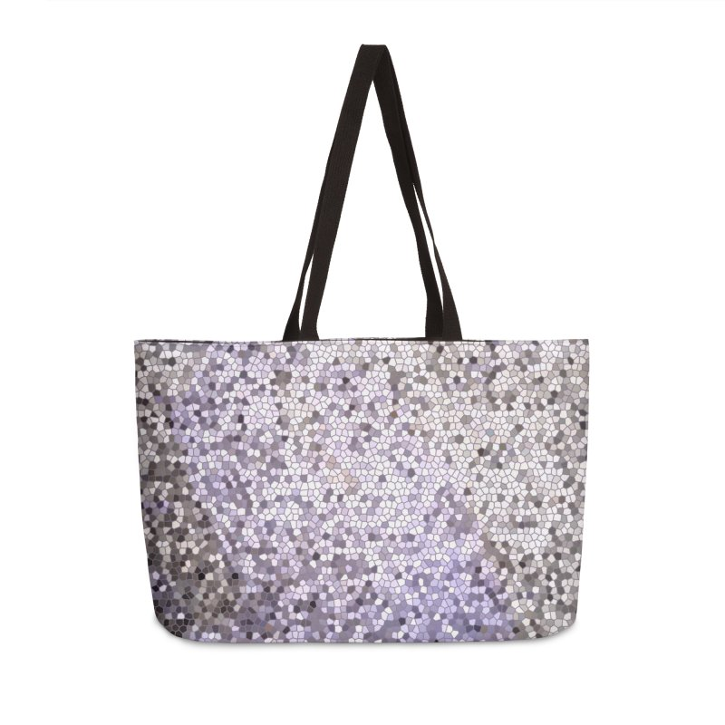 Concrete Ink Spill Accessories Bag by Natina Norton Designs