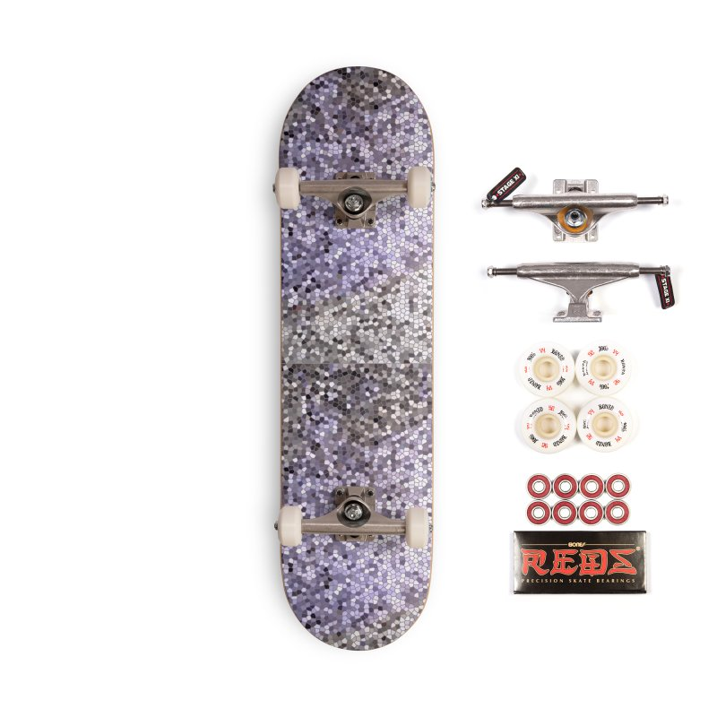 Concrete Ink Spill Accessories Complete - Pro Skateboard by Natina Norton Designs