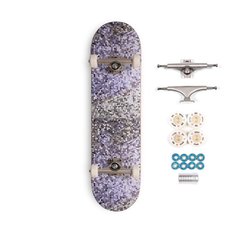 Concrete Ink Spill Accessories Complete - Premium Skateboard by Natina Norton Designs
