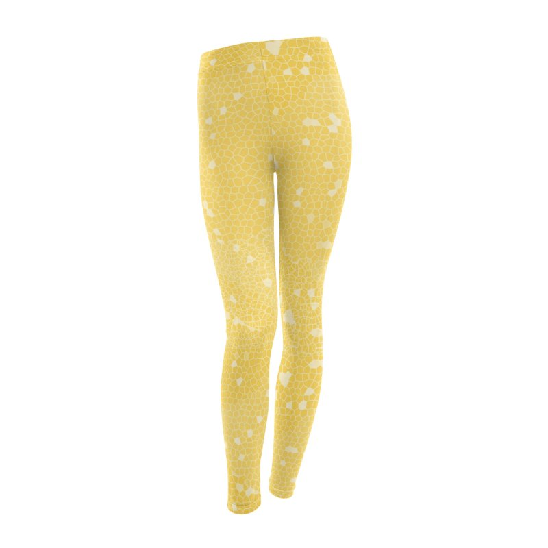 Honeycomb Women's Leggings Bottoms by Natina Norton Designs