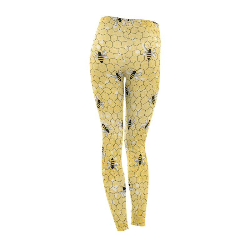 Happy Honey Bees Women's Bottoms by Natina Norton Designs