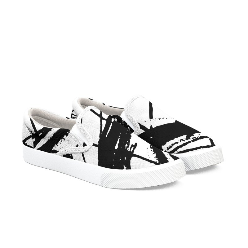 Louvre Lines Women's Slip-On Shoes by Natina Norton Designs