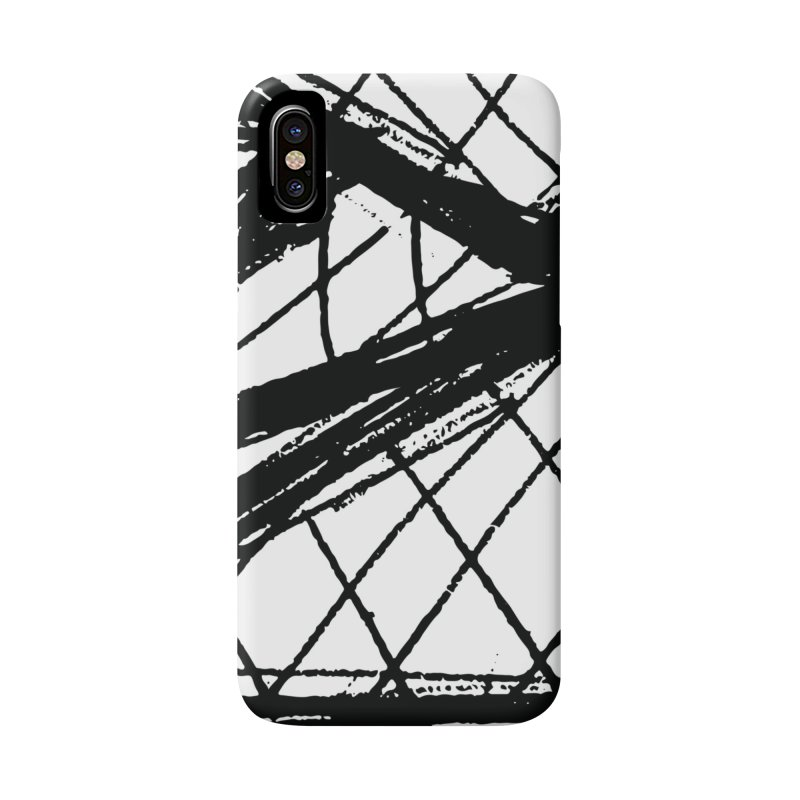 Louvre Lines Accessories Phone Case by Natina Norton Designs