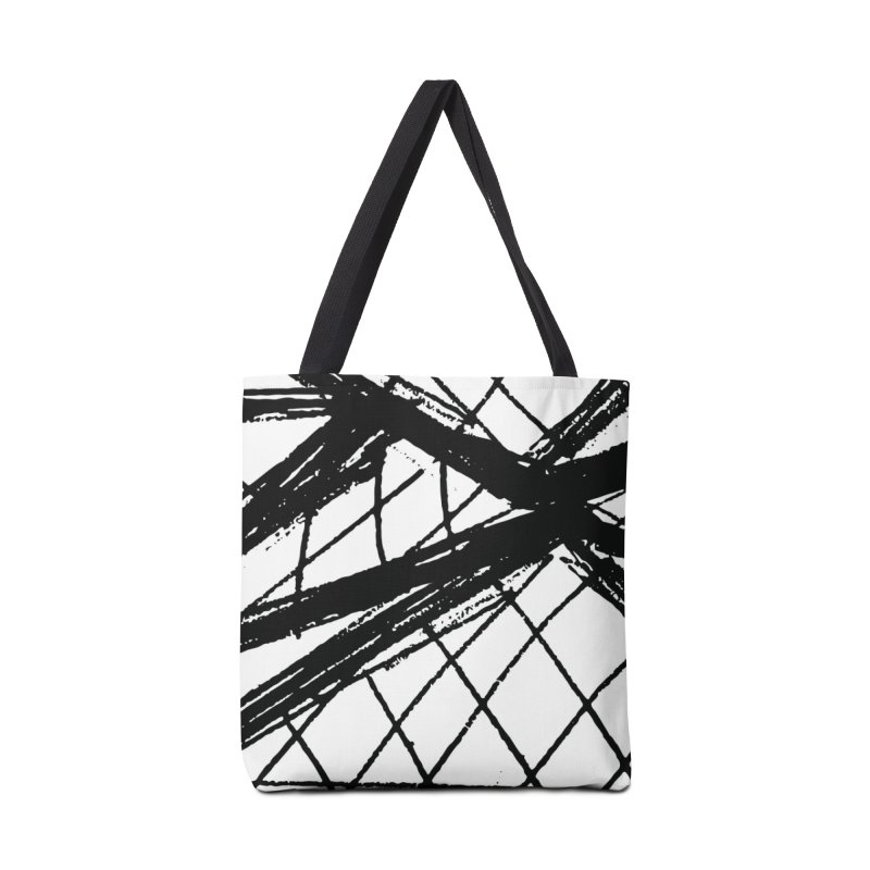 Louvre Lines Accessories Tote Bag Bag by Natina Norton Designs