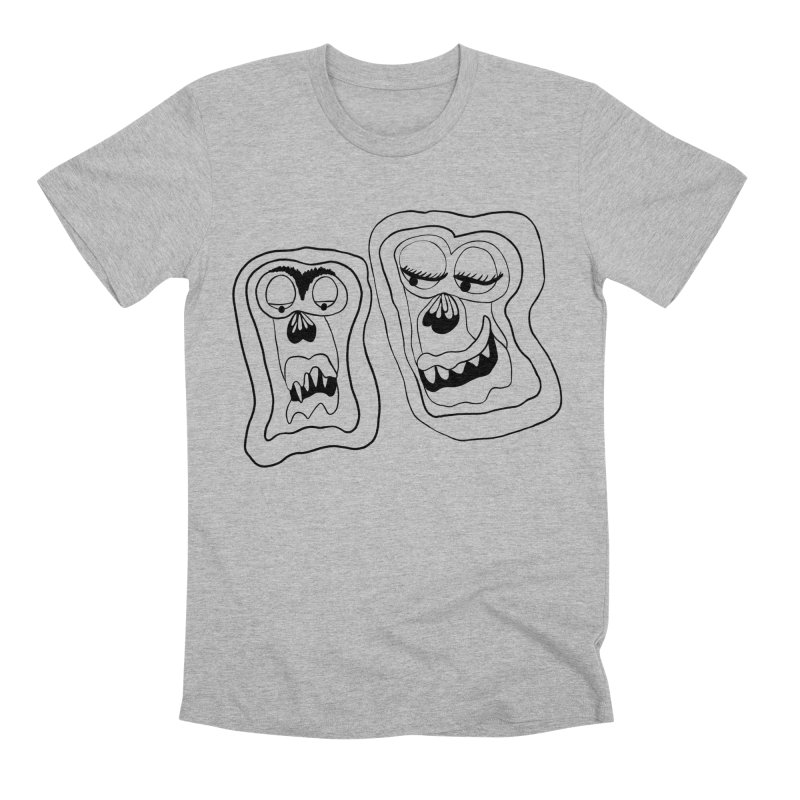 Lovely couple Men's Premium T-Shirt by NatiRomero's Artist Shop