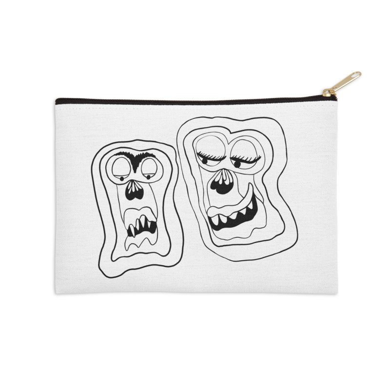 Lovely couple Accessories Zip Pouch by NatiRomero's Artist Shop