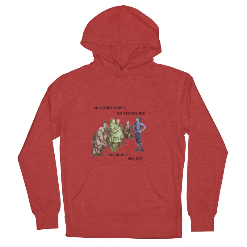 And She did Men's French Terry Pullover Hoody by Natou's Artist Shop