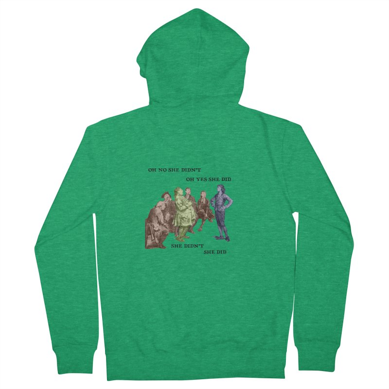 And She did Men's Zip-Up Hoody by Natou's Artist Shop