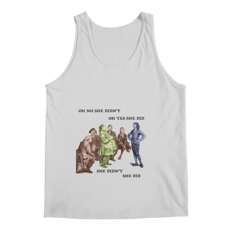 And She did Men's Tank by Natou's Artist Shop