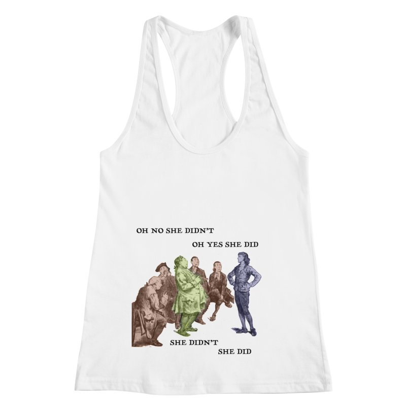 And She did Women's Tank by Natou's Artist Shop