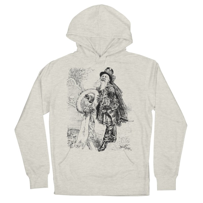 A Happy Pirate Wreath Men's French Terry Pullover Hoody by Natou's Artist Shop